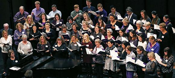 Homecoming - Alumni Choir in concert