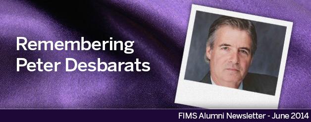 Peter Desbarats Banner