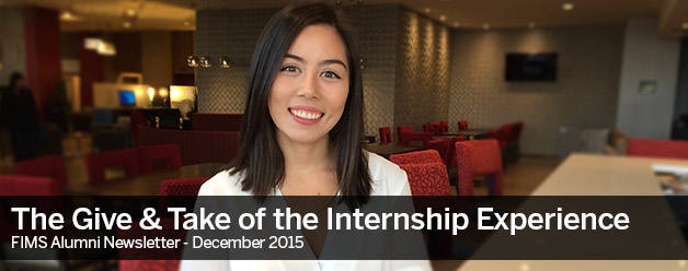 The Give & Take of the Internship Experience