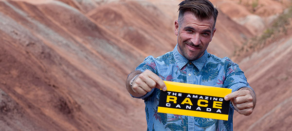 Mike Bickerton on the Amazing Race Canada