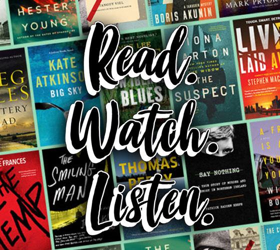 Image of Read. Watch. Listen.