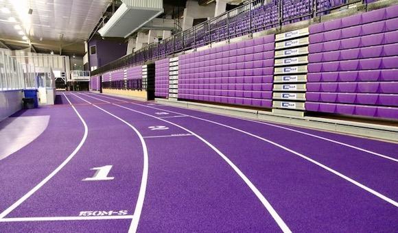 Western's new indoor track