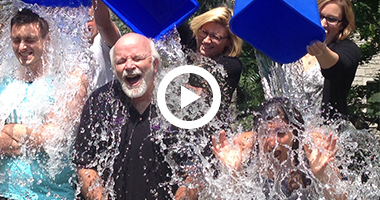 Dr. Michael J. Strong takes Ice Bucket Challenge