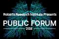 Public Forum 2016