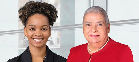 Dr. Nicole Kaniki and Dr. Bertha Garcia