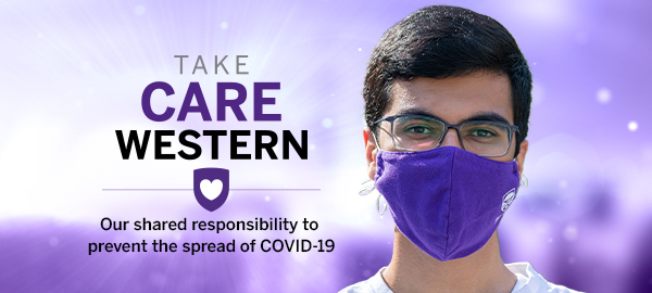 Take Care Western: Our shared responsibility to prevent the spread of COVID-19