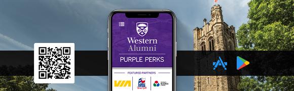 The Purple Perks app on a phone screen