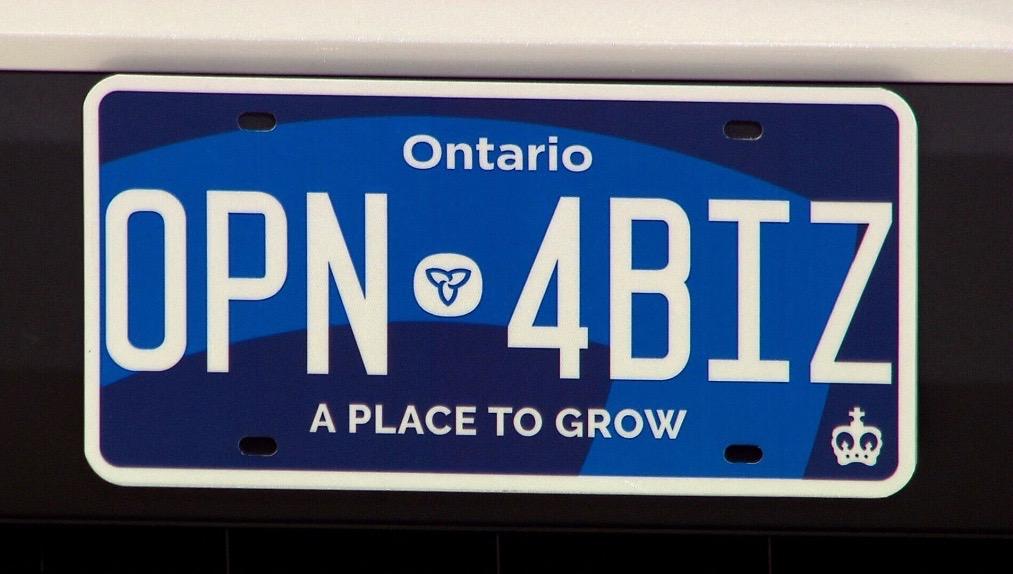 Ontario Plate