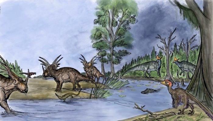 Ancient Ecosystem